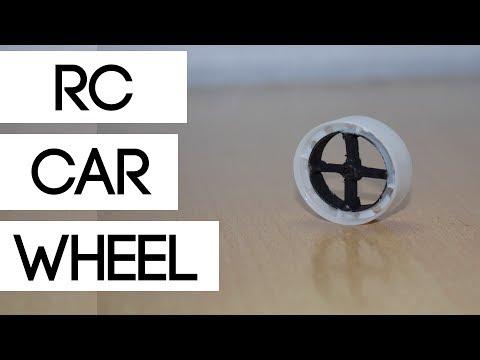How to make RC Car wheel