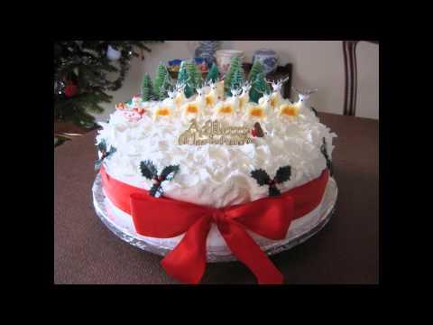 Decorating a Christmas Cake Ideas