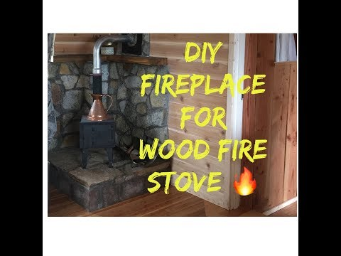 How to Build a Wood Stove Fireplace