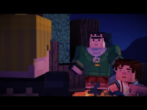 LET'S BUILD A ZOMBIE - MINECRAFT: STORY MODE PART 1