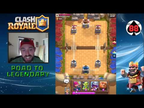 Clash Royale - Road to Legendary Arena - Day 2