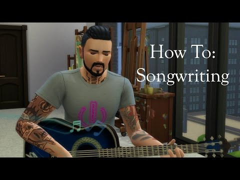 How to write songs    The Sims 4    Tutorial