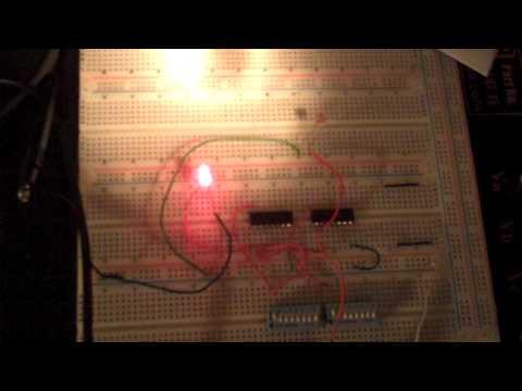 light alarm using logic gates, no programing required!!!  lol.