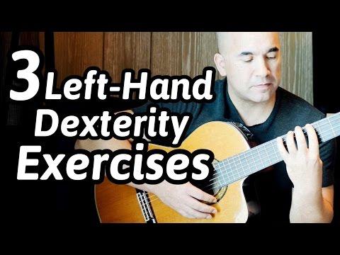 3 Killer Guitar Exercises For The Left-Hand   NBN Guitar