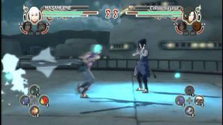 Death of Storm 2 Part 1 of 2 Suigetsu (Hero) vs Sasuke (9999999)