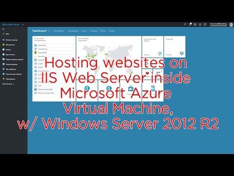Hosting websites on IIS Web Server inside Microsoft Azure Virtual Machines