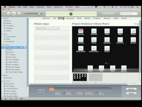 Activating Your iPad2 with iTunes
