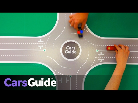 How to use a roundabout | video