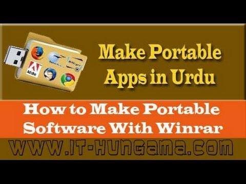 how to make any software portable free urdu and & hindi Tutorials