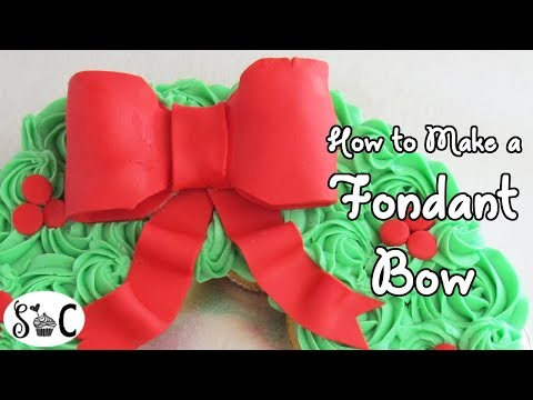 How to Make a Fondant Bow | Sweetwater Cakes