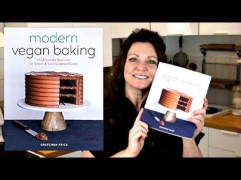 Modern Vegan Baking Cookbook Reveal~ || Gretchen's Vegan Bakery