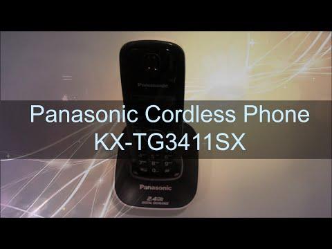 Panasonic Cordless Phone KX-TG3411SX