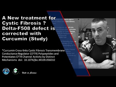 🎓 A New treatment for Cystic Fibrosis ?  Delta-F508 defect is corrected with Curcumin