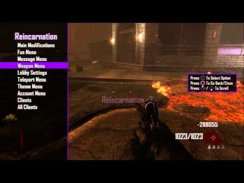 [PS3] Black Ops 2 Reincarnation Zombies SPRX Mod Menu (DEX) [1.19]