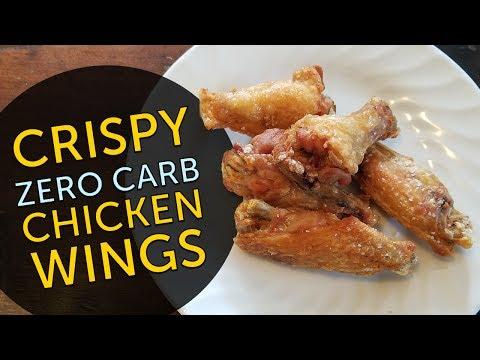 Keto Show: ZERO Carb CRISPY Chicken Wings