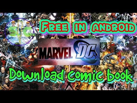 Download marvel Comics free | fast download DC comic | how to download comic book in android