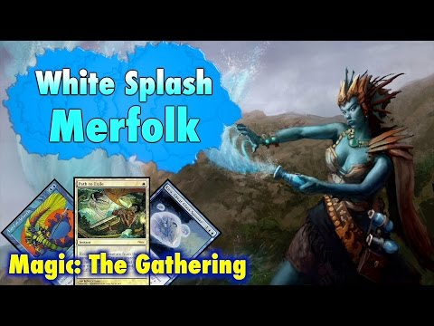 MTG - Build A Modern White Splash Merfolk Deck For Magic: The Gathering