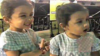 MS Dhoni Daughter Ziva Dhoni Wants To Hug Papa During CSK VS KXIP IPL 2018