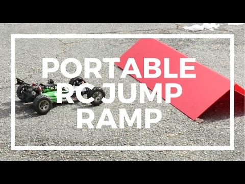 Portable RC Jump Ramp - Duratrax Kwik Ramp Review