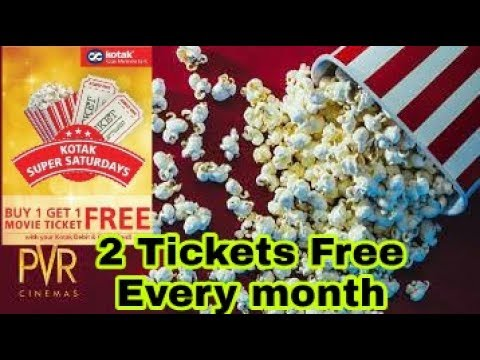 Get Every month 2 PVR  tickets free