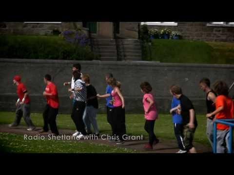 Glasgow Parkour visit Shetland