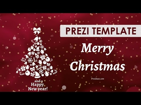 Free Prezi Christmas Card