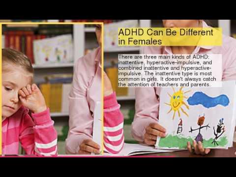 ADHD in Women and Girls