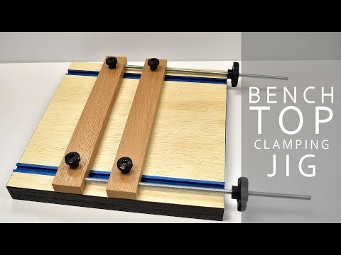 Making A Mini Benchtop Vise  | DIY CREATORS