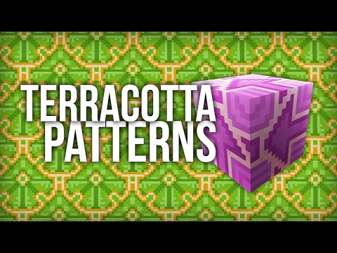 Easiest Way to Make Patterns with Terracotta Blocks in Minecraft