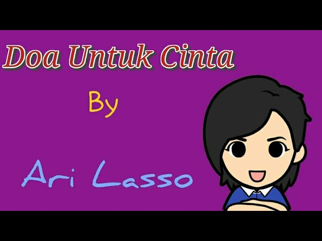 Ari Lasso - Doa Untuk Cinta lyrics