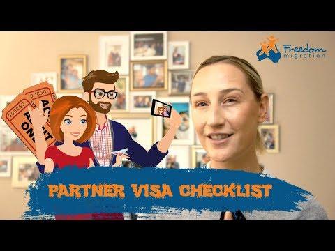 Where to get a Partner Visa Checklist