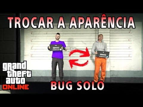 Bug de trocar a aparência de graça no GTA 5 ONLINE (PS3,PS4,XBOX360,ONE,PC)