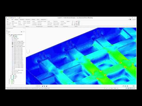 Analysis of a manhole cover with PTC's Creo E/D Finite Element Analysis