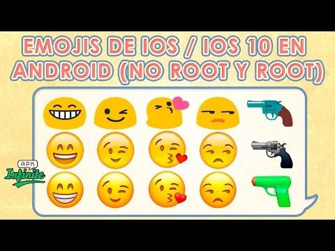 TENER LOS EMOJIS DE IOS 10 EN ANDROID (NO ROOT Y ROOT) (BIEN EXPLICADO) (2017)