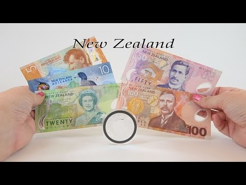 Episode #8 - NEW ZEALAND - Dollar Banknotes and Niue Turtle Silver Coin