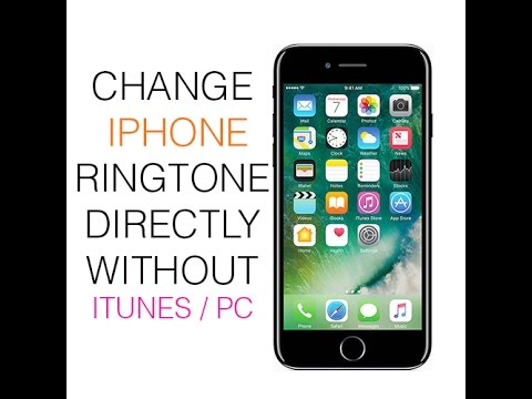 How To Change IPhone Ringtone without ITunes or PC 2017 - IOS 10 And Higher