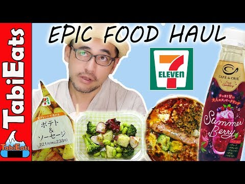 EPIC 7-11 DINNER! Japan's Convenience Stores