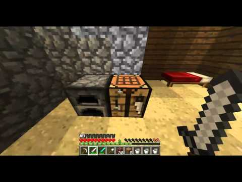 Minecraft | How To Make An Enchantment Table & Enchant Items