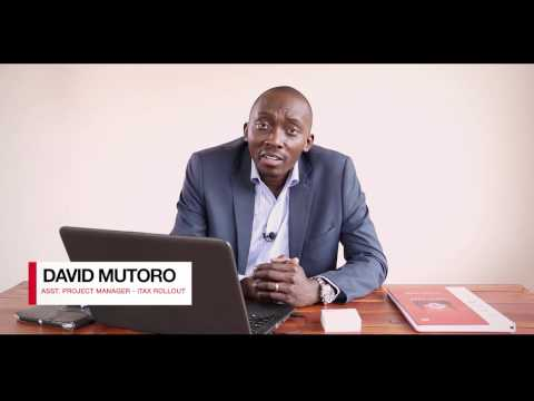 How To Generate Payment Slip For Income Tax - David Mutoro (Asst. Project Mgr - iTax Rollout)