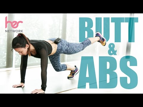 4-Week Toning Butt & Abs Challenge | Joanna Soh | HER Network