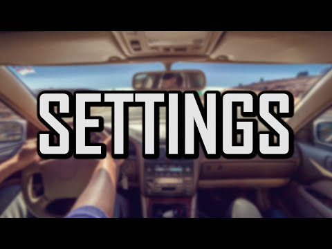 The Best GoPro Settings For In Car