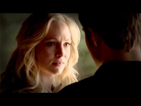The Vampire Diaries 6x14 - Stefan and Caroline kiss (FIRST TIME) [HD]