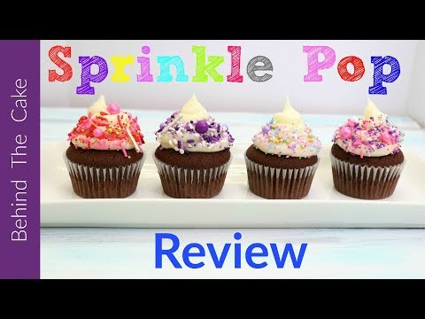 Sprinkle Pop review / Sprinkles for cakes and cupcakes