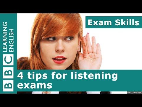 Exam Skills: 4 tips for listening exams