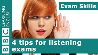 Exam Skills: 4 tips for listening exams
