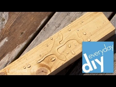 How to Refinish a Wood Deck -- Buildipedia DIY
