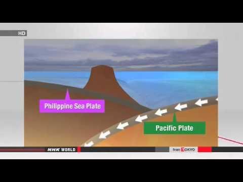 Volcanic eruption continues, making island bigger