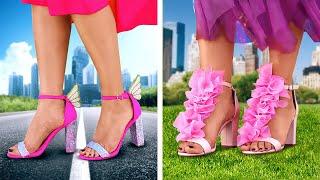 TOP FASHION IDEAS: shoes hacks, clothes upgrades, sewing tricks, bleach decor