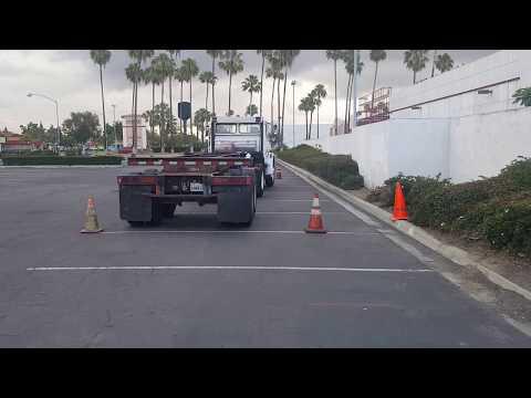 Straight line Backing Skills for CA DMV Skills Test