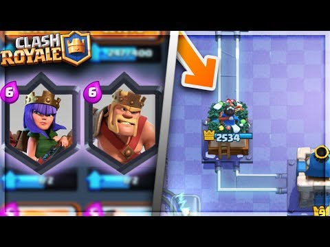 NEW CHRISTMAS TOWER SKINS AND HEROES?! Clash Royale NEW UPDATE LEAK!